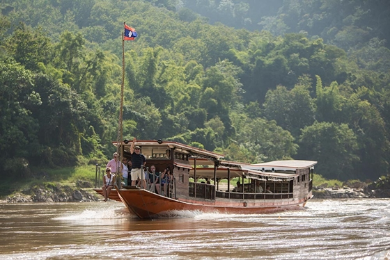 Luang Say Cruise Up Stream
