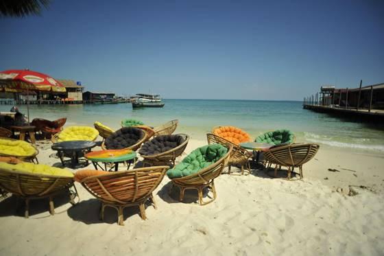 Vacaciones en playa de Sihanoukville